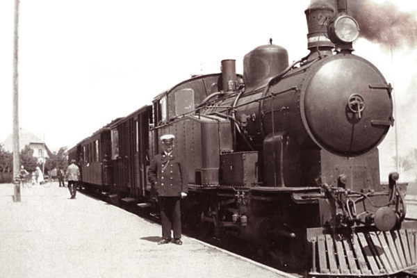 Jernbanen og livet på Gudhjem Station: 22. september 2021