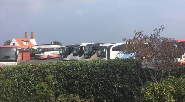 Trafik og parkering – denne sommer i Gudhjem