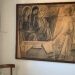 Munch og Høm i Stationsbygningen